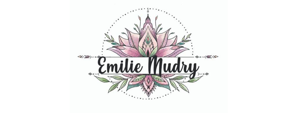 Logo Emilie Mudry Lotus Massages
